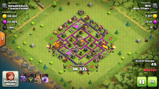 Must Watch: TH7 OP Attack Strategy COC