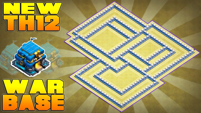 TH12 WAR BASE 2019 with Replay Proof   Town Hall 12 War Base Design/Layout/Defense   Clash of Clans