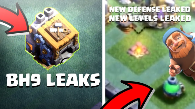 New Builder Base Leaks!     BH9, NEW DEFENSE, NEW DEFENSE LEVELS...    CLASH OF CLANS HINDI