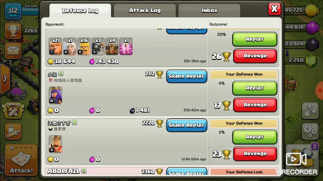 Clash of clans coc fan townhall 10 ....best defence ........won 15 defences out of 19