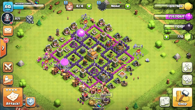 My first Clash of Clans Stream