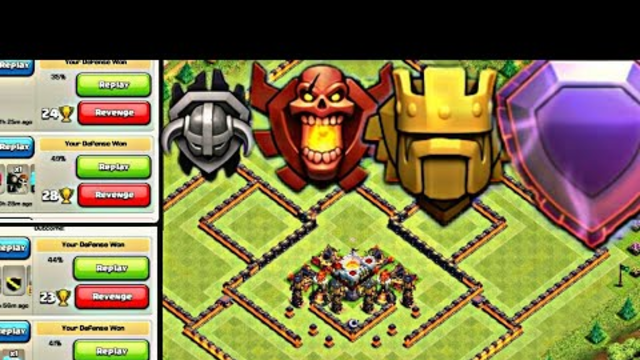 PUSH YOUR TROPHY TO THE VICTORY. TOWN HALL 11 BEST TROPHY PUSHING BASE 2019|CLASH OF CLANS