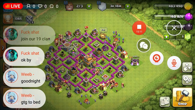 Clash of Clans gamplay, base reviews, and more!