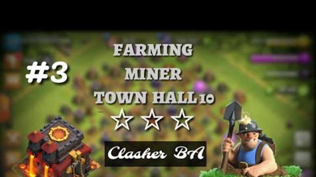 Farming miner part 3 - Clash of Clans Indonesia