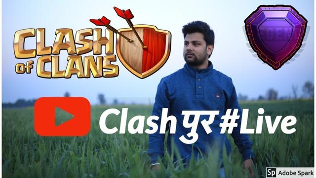 Clashof Clans   Clashpur Live  Journey to 2000 subscribers