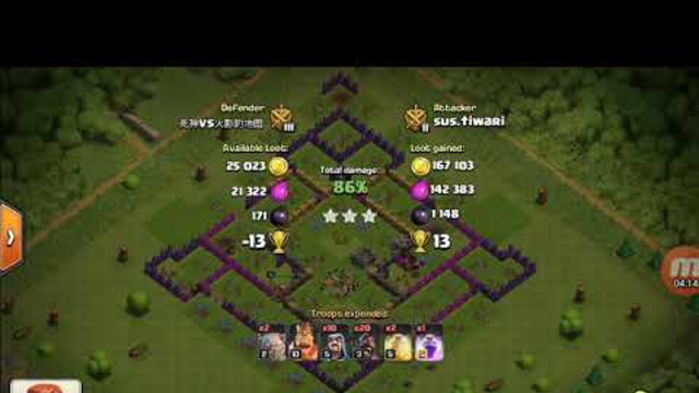 Why....? CV clash of clans rewarded to this th8 attack with one of the best strategy of th8 why...?
