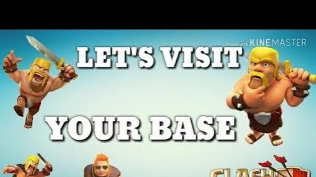 coc live visit your base