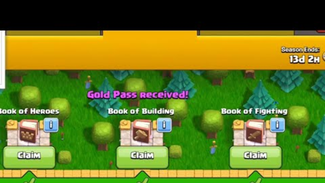 OMG I got the season pass (clash of clans)