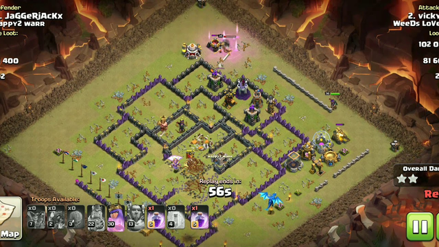 How To Defeat Town Hall 11 Base / Clash Of Clans / COC lovers
