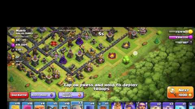 (Episode 4) Clash of Clans [Farming in Crystal League]