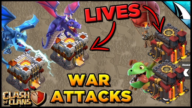 *LIVE* Full War Attack Planning & Hits | Clash of Clans