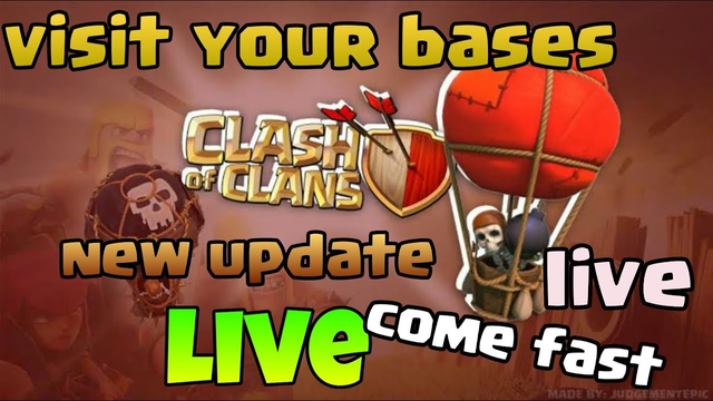 My Clash of Clans Stream, let's visit your bases ,th9 pushing tricks