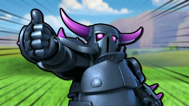 We discovered the P.E.K.K.A's POWER in Clash of Clans!