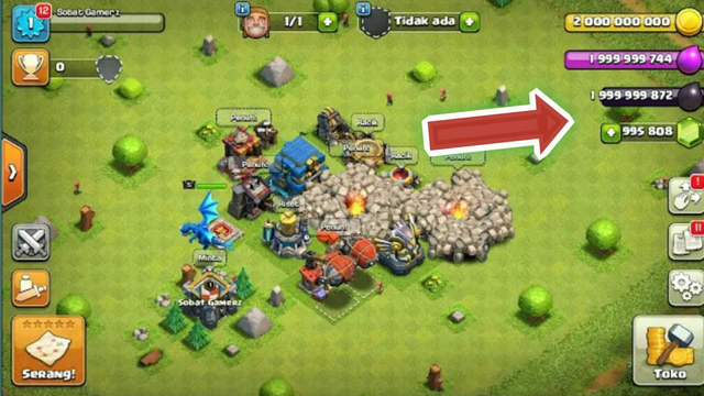 DOWNLOAD COC MOD APK 2019 BISA WAR?? CHEAT COC TERBARU