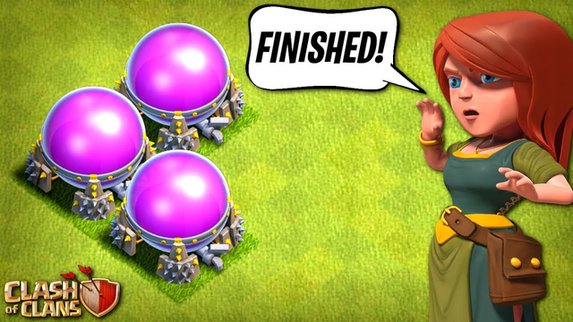FINALLY DONE WITH ELIXIR on My TH8!  Clash of Clans