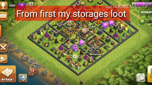 Loot Journey ,Part 1 ,All attacks,Clash of Clans INDIA 2019.