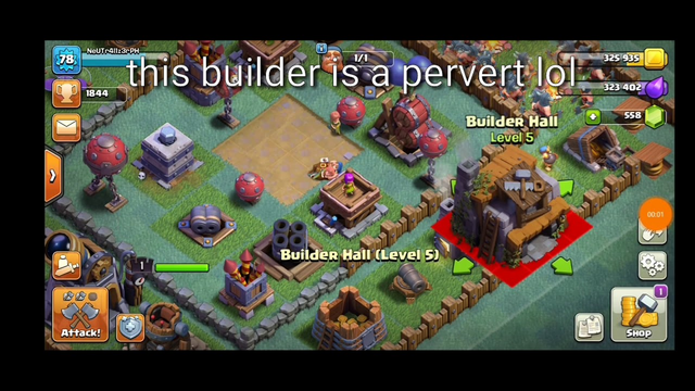 Coc is inappropriate lol.