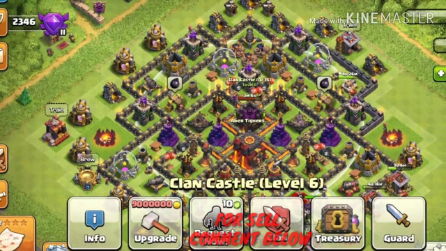CLASH OF CLANS TH10 ACCOUNT FOR SELL #CLASHOFCLANS CONATCT ME IF YOU WANT LINK IN DESCRIPTION