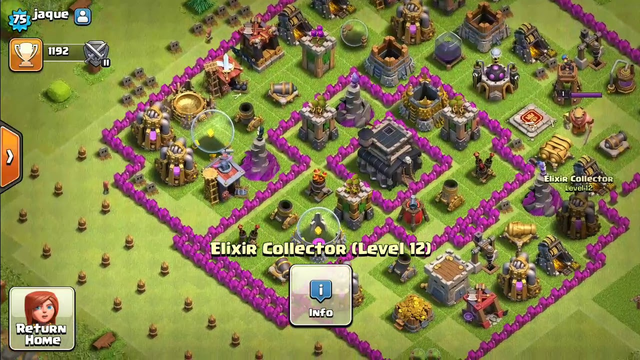 LETS PLAY CLASH OF CLANS!!!
