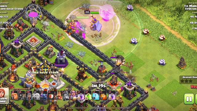 Clash of Clans: Amazing TH 11 Looting Army
