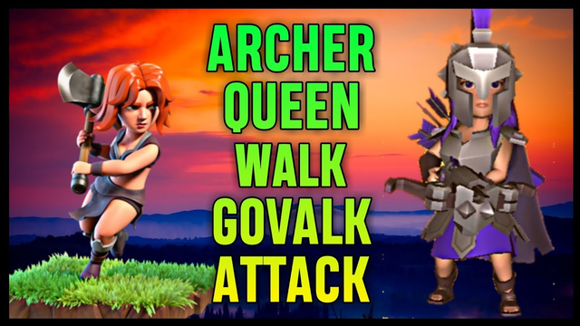 Th9 Queen Walk + GoValk War Attack Strategy | Part 5 | Clash of Clans