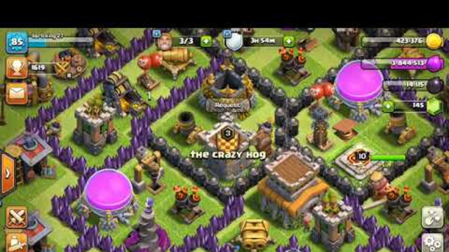 Clash Of Clans awesome TH8 Loonion attack strategy! 100% every battle!