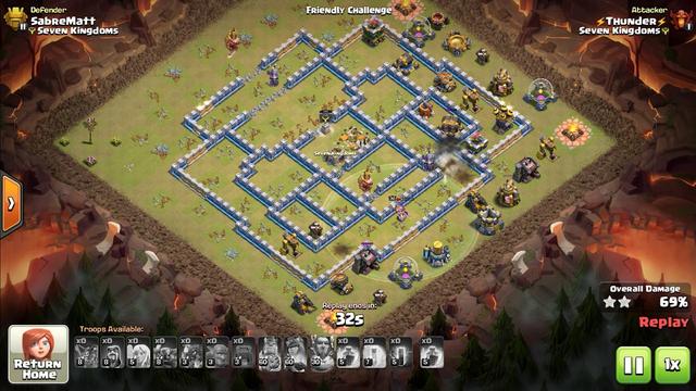 Clash of clans - Pekka Bo Bat