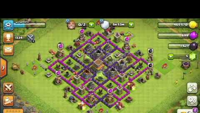 How to attack/raid in clash of clans