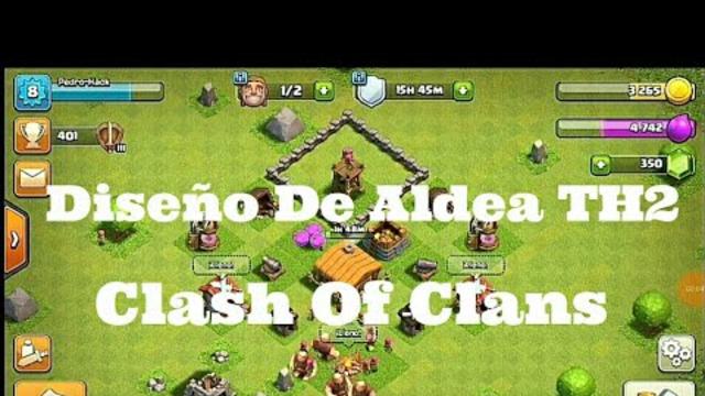 Unas de Las Mejores Bases Th2 De Todo Clash Of Clans! (~PedriTus~)