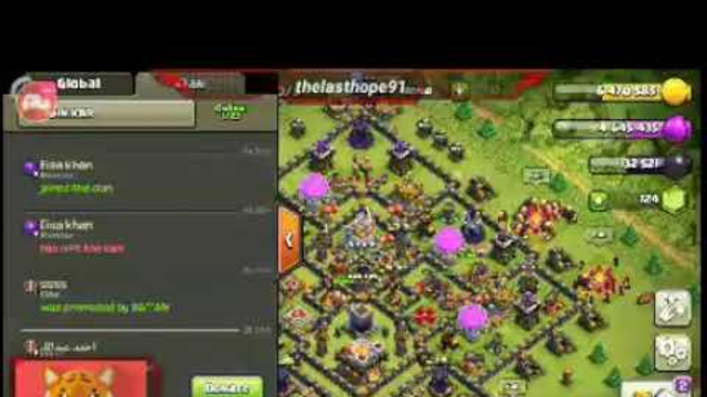 Clash of clans attacks for loot