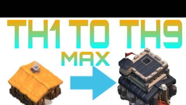 NEW COC TH 1 TO TH 9 MAX WITHIN 15 MINUTES || HIGHLY MODDED || DOWNLOAD NOW ||