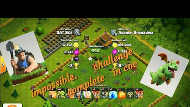 Do 99% with 1 star in clash of clans India