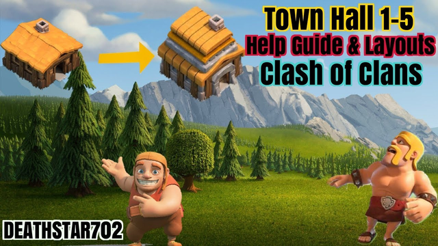 Town hall 1-5 Help Guide & Layouts - Clash of Clans