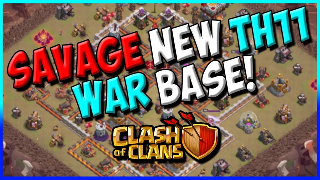 BEST OF CWL INVITE! TH11 WAR BASE - ANTI 3 STAR - ANTI EVERYTHING - CLASH OF CLANS