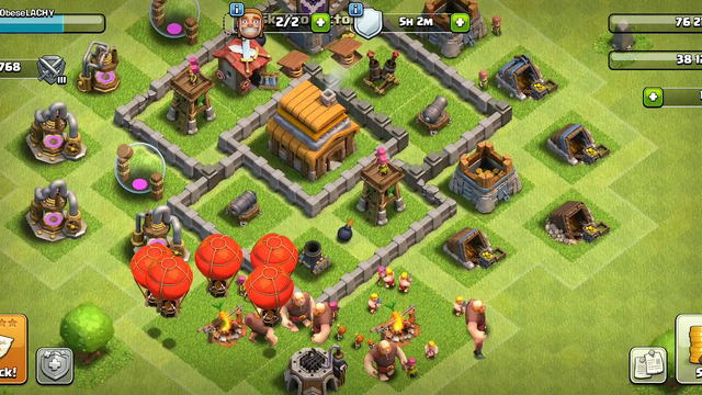 My Clash of Clans base