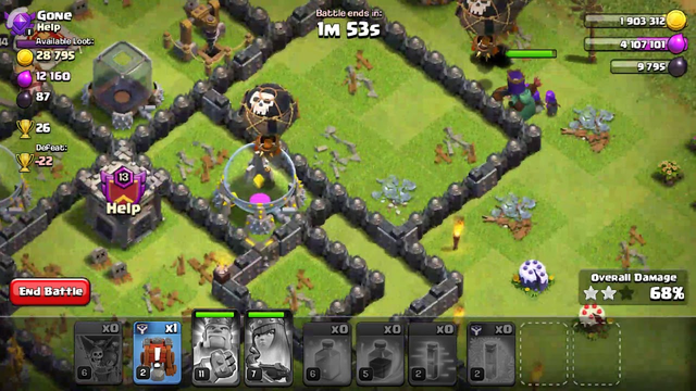 Clash of clans the best attack on th10 best army best stratergy
