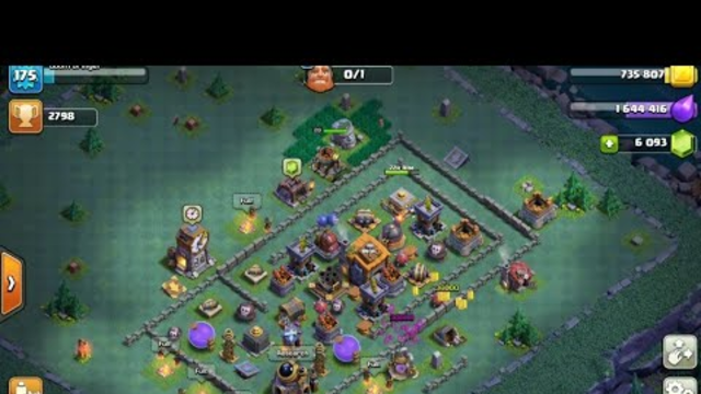 Failed Mass Night Witch attack Builder Base (Clash of Clans 04)