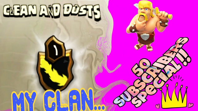 Clash of Clans New update..Join my clan ...Townhall 1 to 12..Free entry..Free elder...