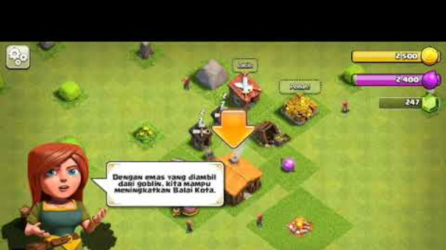 Pertamakali main clash of clans