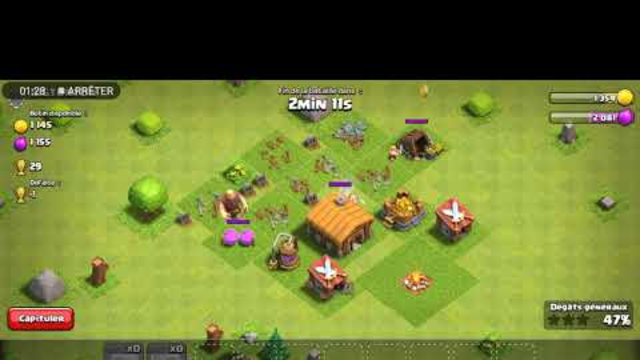 !?Test de jeu clash of clans ?!??!