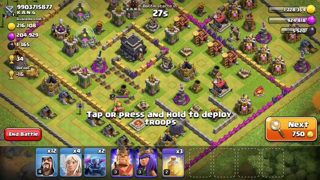 Queen walk- Clash of Clans does it work