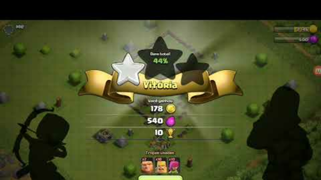 Atacando!clash of clans