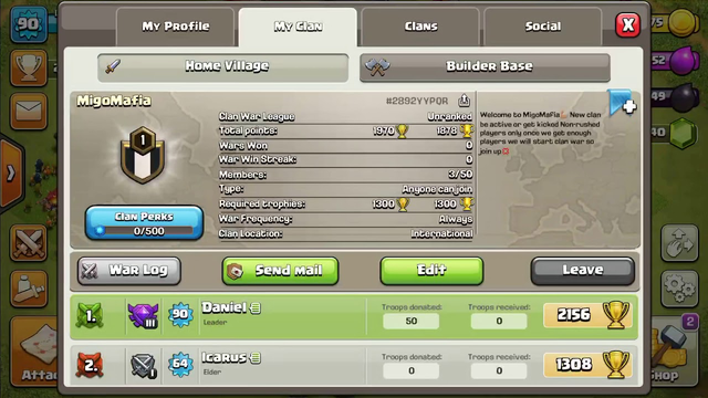 Join my Clan| ClashofClans