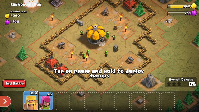 clash of clans town hall 1 to 7 town hall
