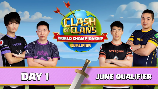 World Championship - June Qualifier - Day 1 - Clash of Clans