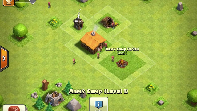 TOWN HALL 1 IN CLASH OF CLANS