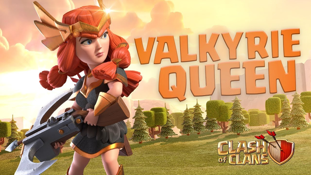 Valkyrie Queen Skin Available Now! (Clash of Clans Season Challenges)