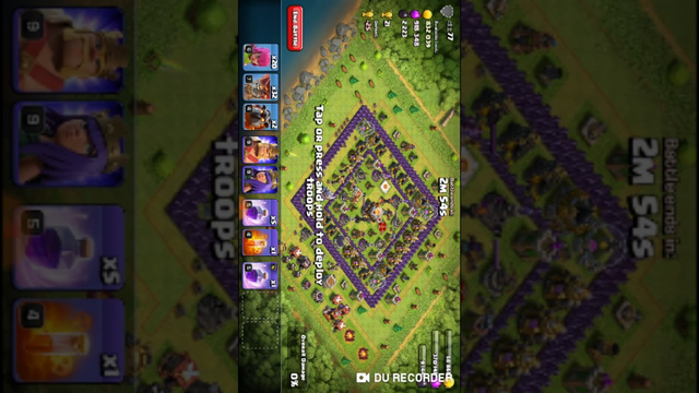 Clash of clans 3 stat in air attach