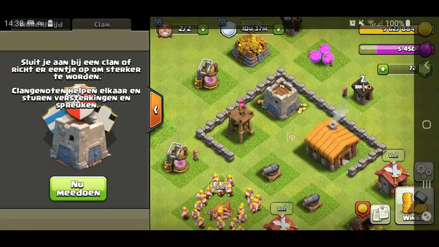 LIVE: Clash of Clans TH2 donating
