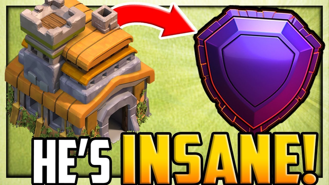 Town Hall 7 in LEGEND LEAGUE in Clash of Clans - HOW He Did it!